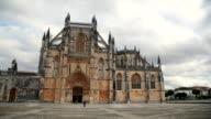 Pan of Monastery of Batalha, Portugal video