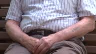 Pan To Holocaust Auschwitz Tattoo video