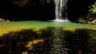 Pan Up Waterfall video