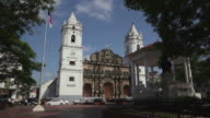 Panama City, Casco Viejo, Casco Antiguo, Old Quarter church video