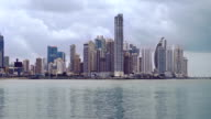 Panama cityscape video