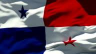 Panama Flag video