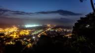 Panama Shipyard Time Lapse Pan video
