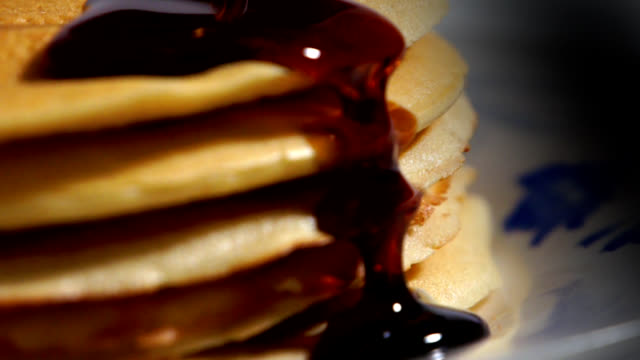Pancakes Close-up (2) video