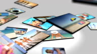 3D Panel Montage Family Beach Vacation Lifestyle video