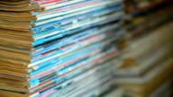paning down : book heap edge video