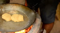 panning : cooking instant noodle by boiling in water video
