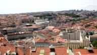HD panning: Lisbon aerial view Portugal video