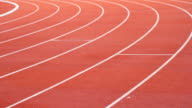 Panning of Running Track video