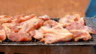 panning: roasted porks eaten with alcoholic drinks video