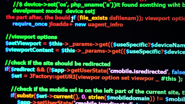 Panning shot Code Programming video