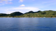 Panning the Koh Tao coast video