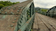 panning: The rust steel and classical bridge video
