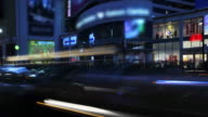Panning Timelapse 180-¶...City Street at Night video