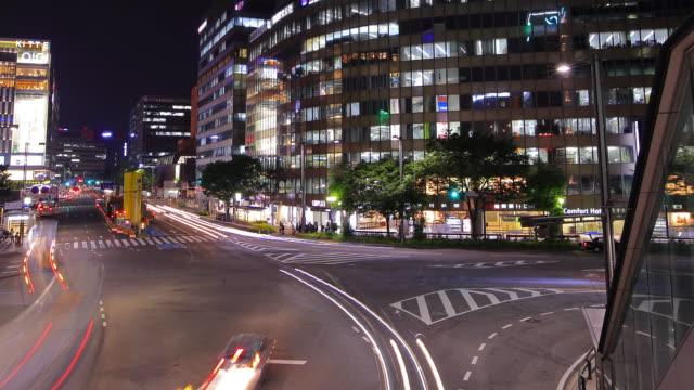 Panning Traffic time-lapse in Japan video