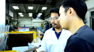 panning: two engineers consider blown film process video