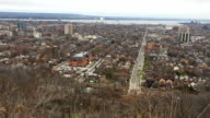 Panning view over Hamilton, Ontario video