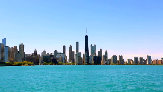 Panorama of Chicago, IL video