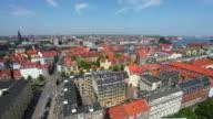 Panorama of Copenhagen, Denmark video