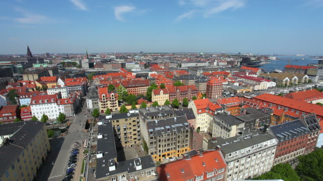 Panorama of Copenhagen, Denmark video