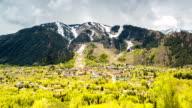 Panorama of famous Aspen, Colorado. video