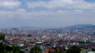 Panorama of Istanbul from the Big Camlica Hill video