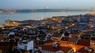 Panorama of Lisbon, Portugal video