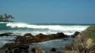Panorama of the Indian Ocean video