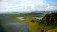 Panorama of the southern coast of Iceland. video