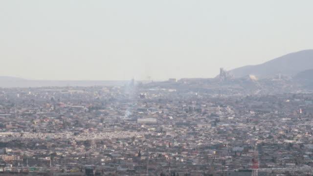 Panoramic Juarez, Mexico video