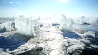 Panoramic Motion Along the Ice Horse video