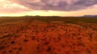 HELI Panoramic Shot Of Himba Settlement video