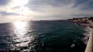 Panoramic view from Corniche du Président John Fitzgerald Kennedy video