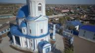 Panoramic view of beautiful orthodox church video