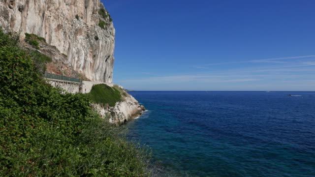 Panoramic view of French Riviera video