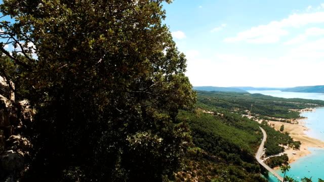 panoramic view of Gorges Du Verdon video