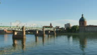 Panoramic View of the Midi Channel in Toulouse video