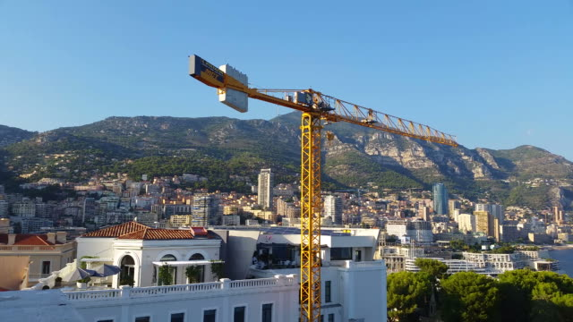 Panoramic View of the Principality of Monaco video