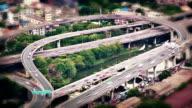 Panoramic view of urban landscape in Bangkok video