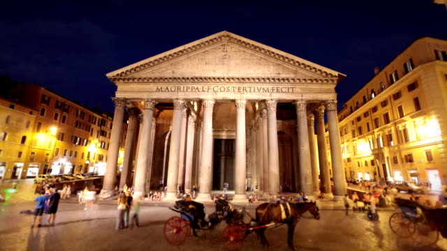 Pantheon, Rome, Italy video
