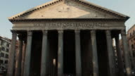 Pantheon Temple in Rome video