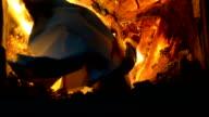 paper ball burning video