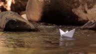 Paper boat 01 video