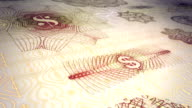 Paper Currency Scrolling Background Loop HD, SD video