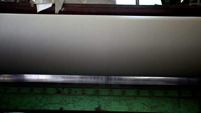 paper machine video