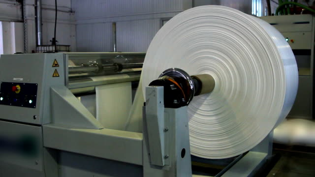 Paper roll for a printing press video