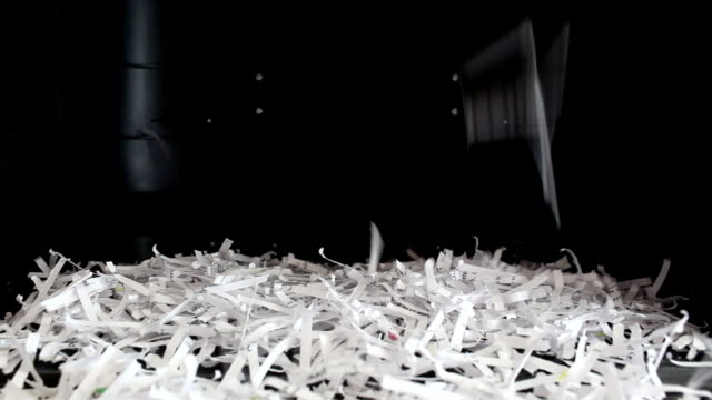 Paper Shredder Machine (Pile up) video