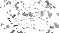 Papers falling from the sky video