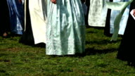 Parade of Traditionally Dressed Bavarian Women video
