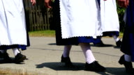 Parade of Traditionally Dressed Bavarians PAN video
